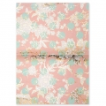Paper Patch Bouquet Salvaje 42x30cm Toile de jouy Light Rosa/Or x3 hojas
