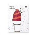 50 Sticky notes Paper Poetry - Magical Summer Crème Glacé x1