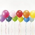 12 globos para fiestas Yey - Let's Party Mix Multicolore x1