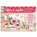 Papel Design Mix and Match para Scrapbooking - My Love x1