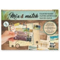 Papel Design Mix and Match para Scrapbooking - Journey x1