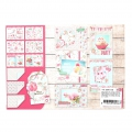 Papel Design Mix and Match para Scrapbooking - Birthday x1