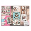 Papel Design Mix and Match para Scrapbooking - Follw Your Heart x1