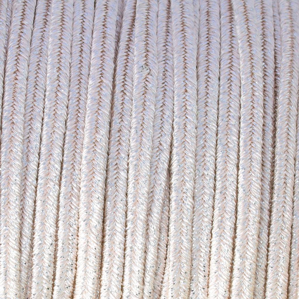 Hilo cordón Soutache metálico Trenza de Fabricación Italiana 3.5 mm ...