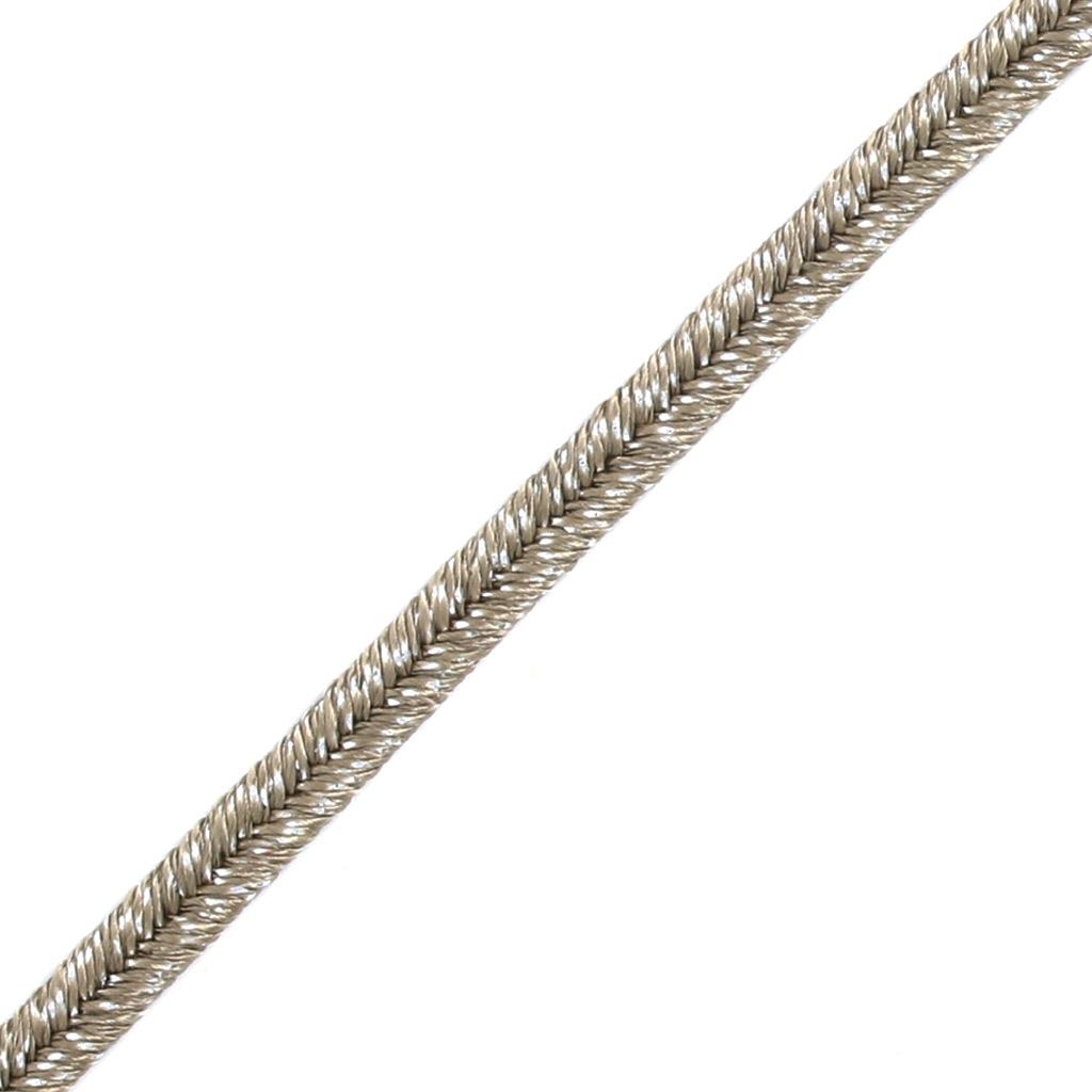 Hilo cordón Soutache metálico Trenza de Fabricación Italiana 3.5 m ...