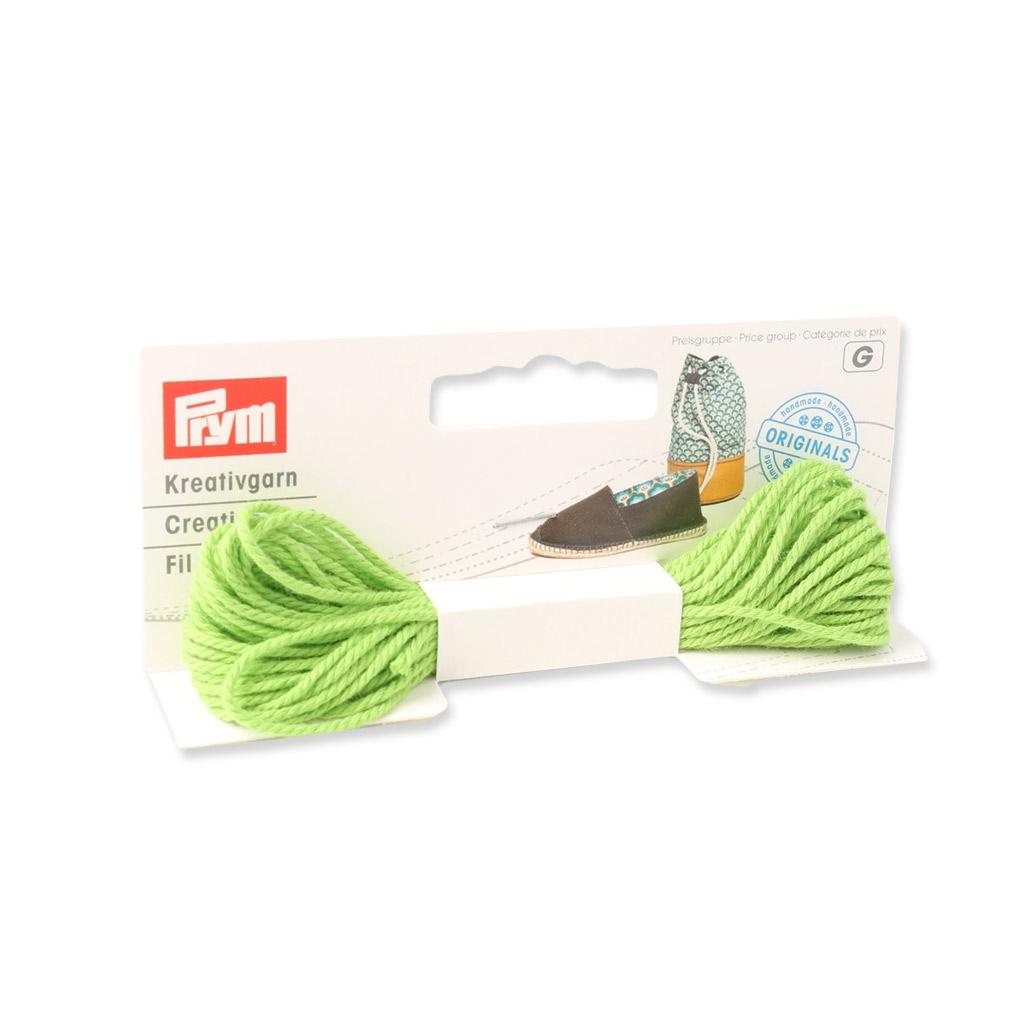 Hilo decorativo para coser alpargatas 1,5 mm Verde x7m - Perles & Co