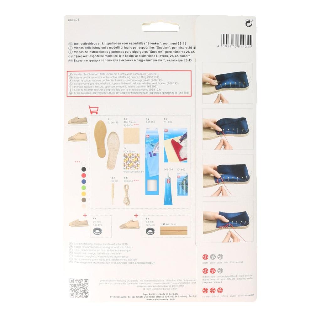 Vidéos instrucciones y patrones para alpargatas Sandal - Perles & Co