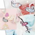 24 pics en bois - Magical Summer - Unicornio  - Rosa/Multicolore x1