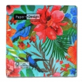 Servilleta de papel Tropical Paradise 33cm Multicolore x20
