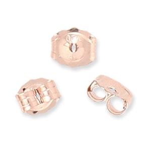 793aa1314e85 Tuercas de pendientes de Gold Filled Rosa 14 kilates x4 Bolas 2 mm ...