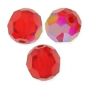 Bola redonda Swarovski 5000 8 mm Light Siam Shimmer x1