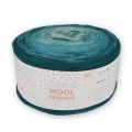Creative Wool Dégradé - Verde Petrole 003 x 200g