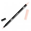 Rotulador Tombow Dual Brush - Rotulador punta de pincel doble Flesh ABT-850