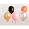 12 globos para fiestas - decoración Yey - Let's Party Mix x1