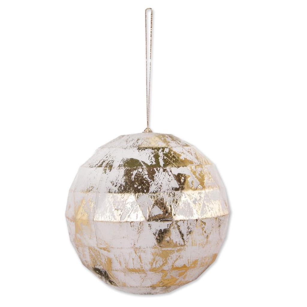 Bola De Navidad Transparente Para Rellenar 80 Mm Facetada X1 - Bolas-de-navidad-transparentes