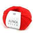 Lana Fashion Alpaca Dream Rojo n°013 x 50g