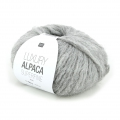 Lana Luxury Alpaca Superfina Aran - Gris Clair n°003 x 50g