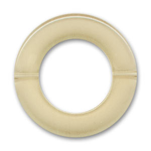 Aro agujereado 40 mm Beige x1
